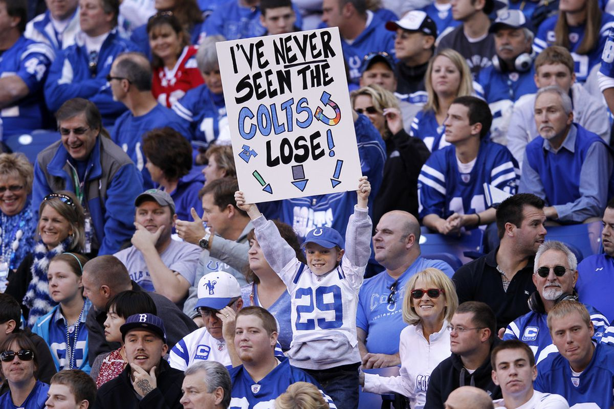 Cheap Jim Irsay Tells Colts Fans To 'BUCK UP!' Stampede Blue  hot sale