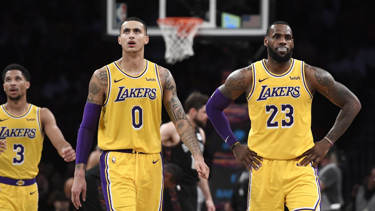 Kyle Kuzma says he never would have imagined the Lakers not making the  playoffs 3500ac2a3