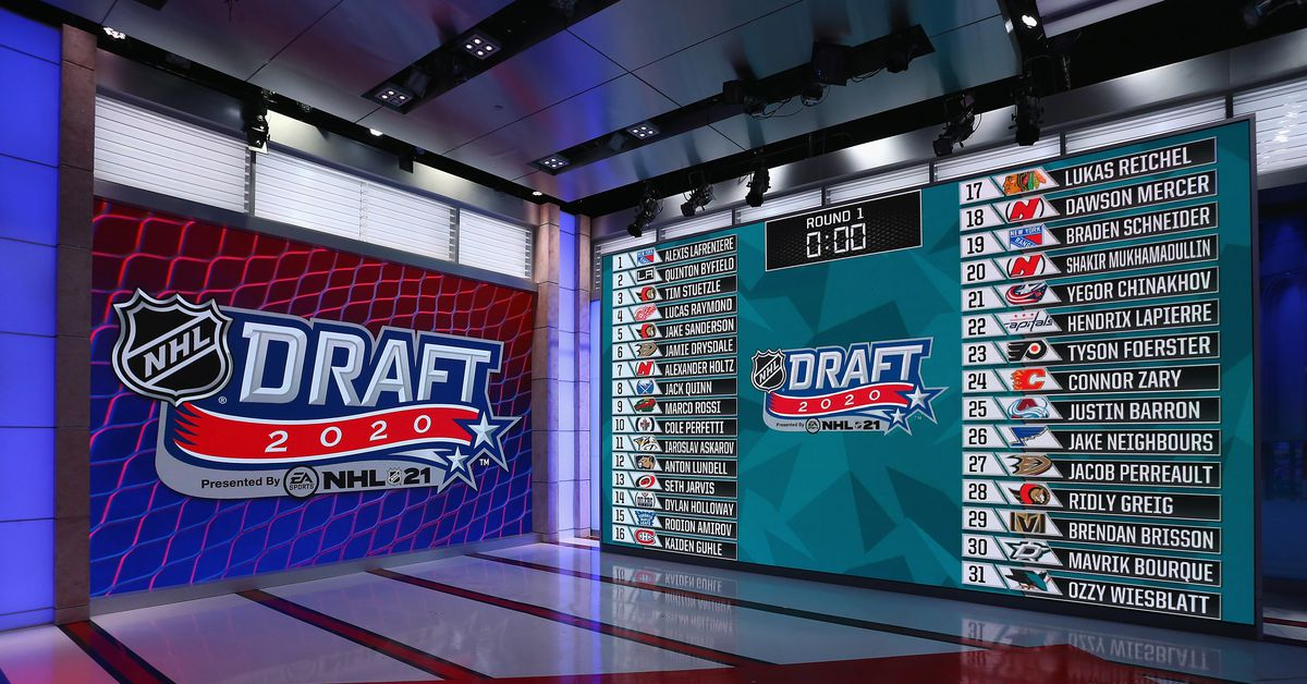 what time does the nhl entry draft start