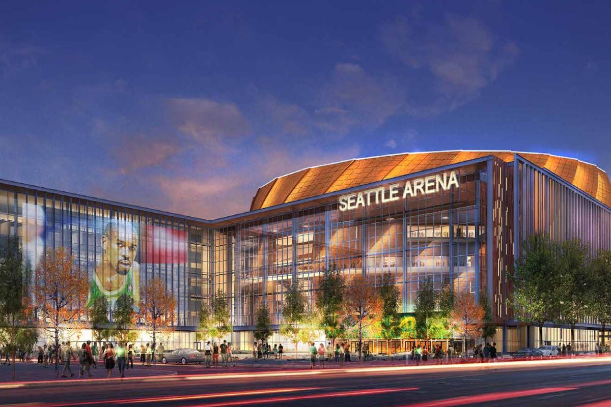 Proposed Sonics Arena