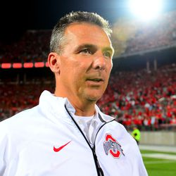 Urban Meyer after the win.