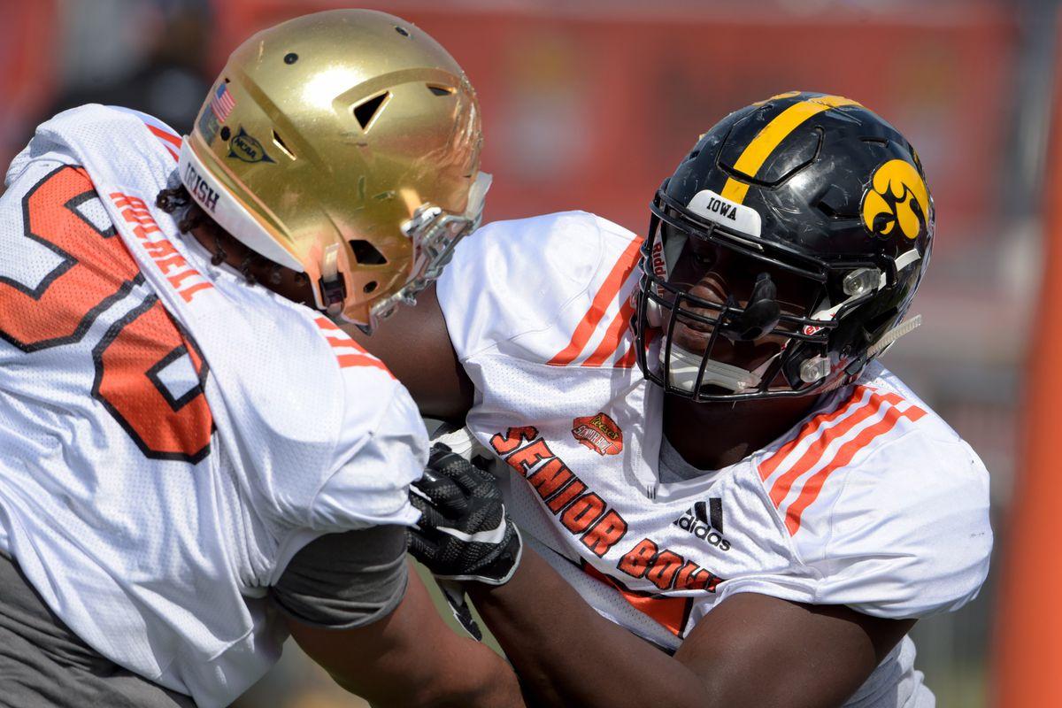 NCAA Football: Senior Bowl-North Practice