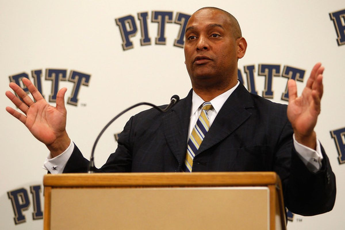 University of Pittsburgh head football coach Mike Haywood (Photo by Jared Wickerham/Getty Images)