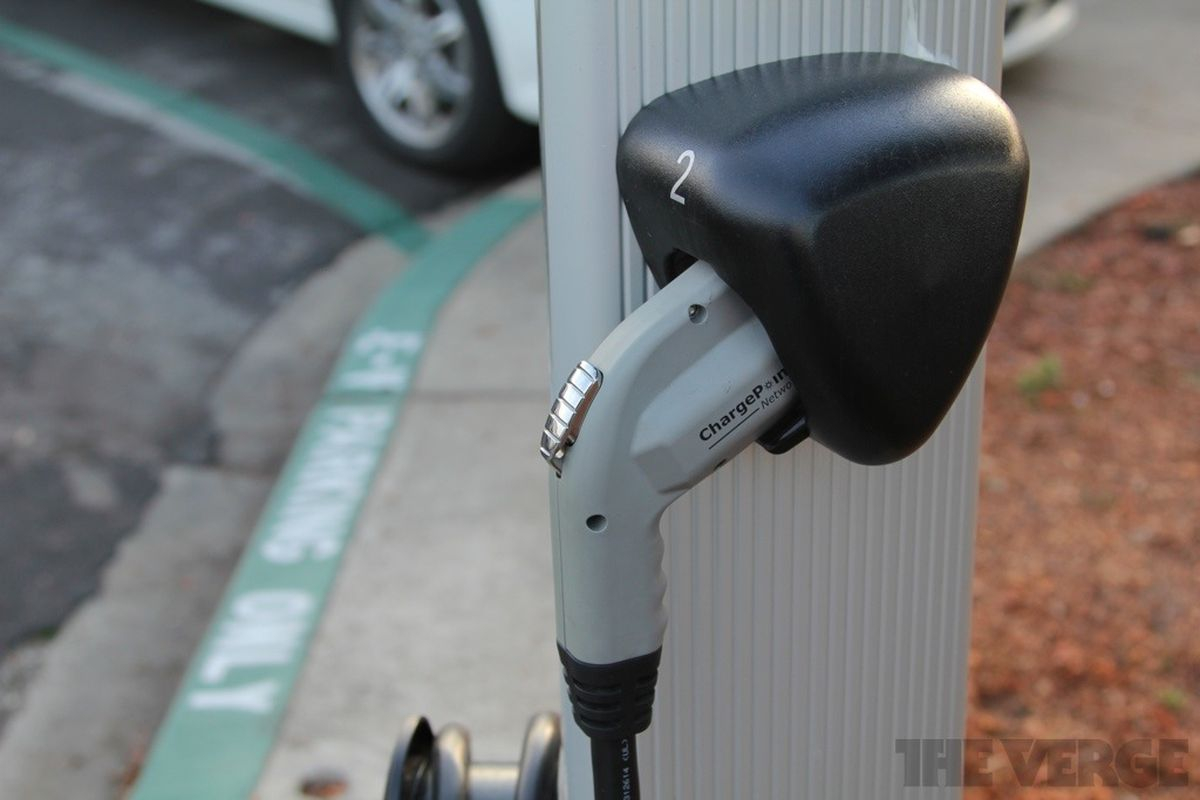 Chargepoint EV charging station stock 1024 4
