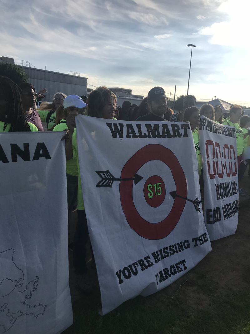 walmartmissingtarget Retail workers are more vulnerable than ever. A new campaign wants to protect their jobs.