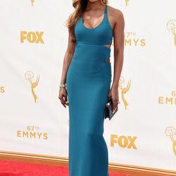 Laverne Cox at the Primetime Emmy Awards in 2015.