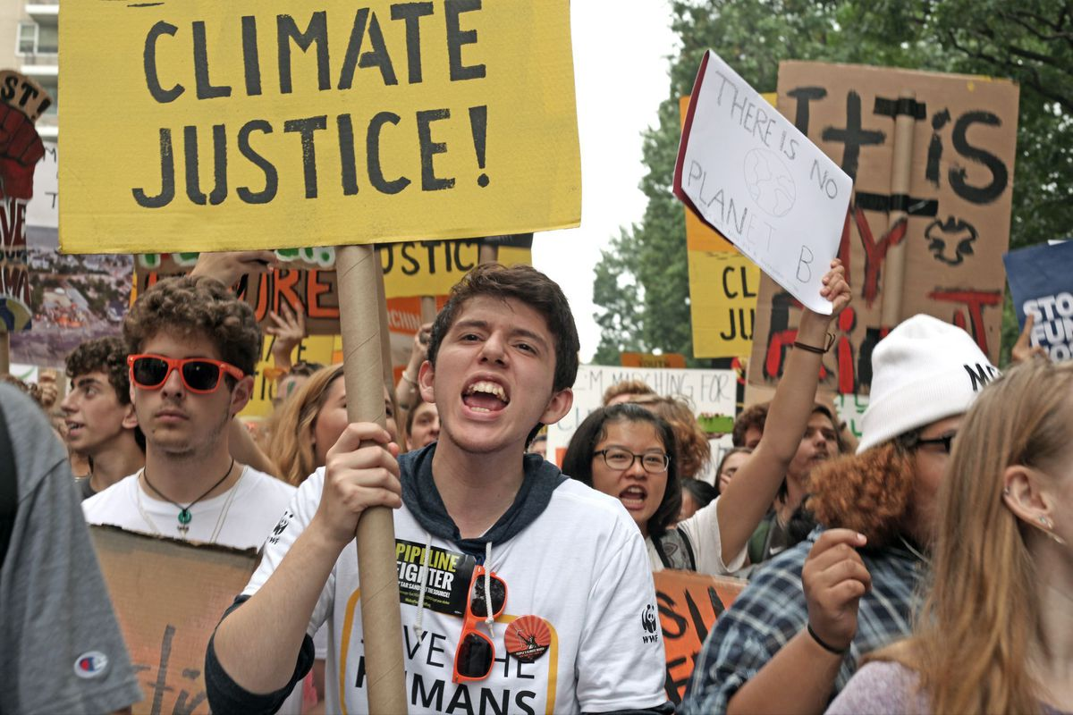 Climate March in Manhattan
