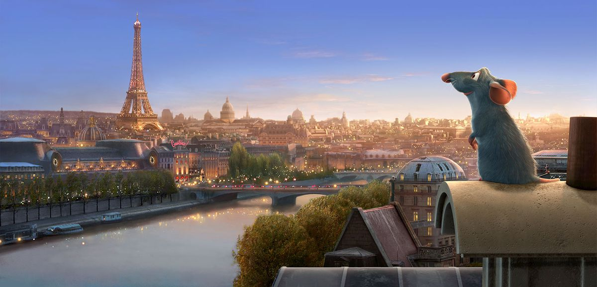 Remy in Ratatouille