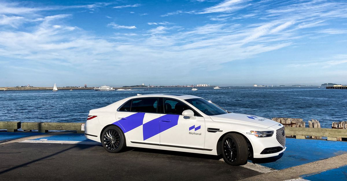 Hyundai's autonomous vehicle project with Aptiv will now be called Motional