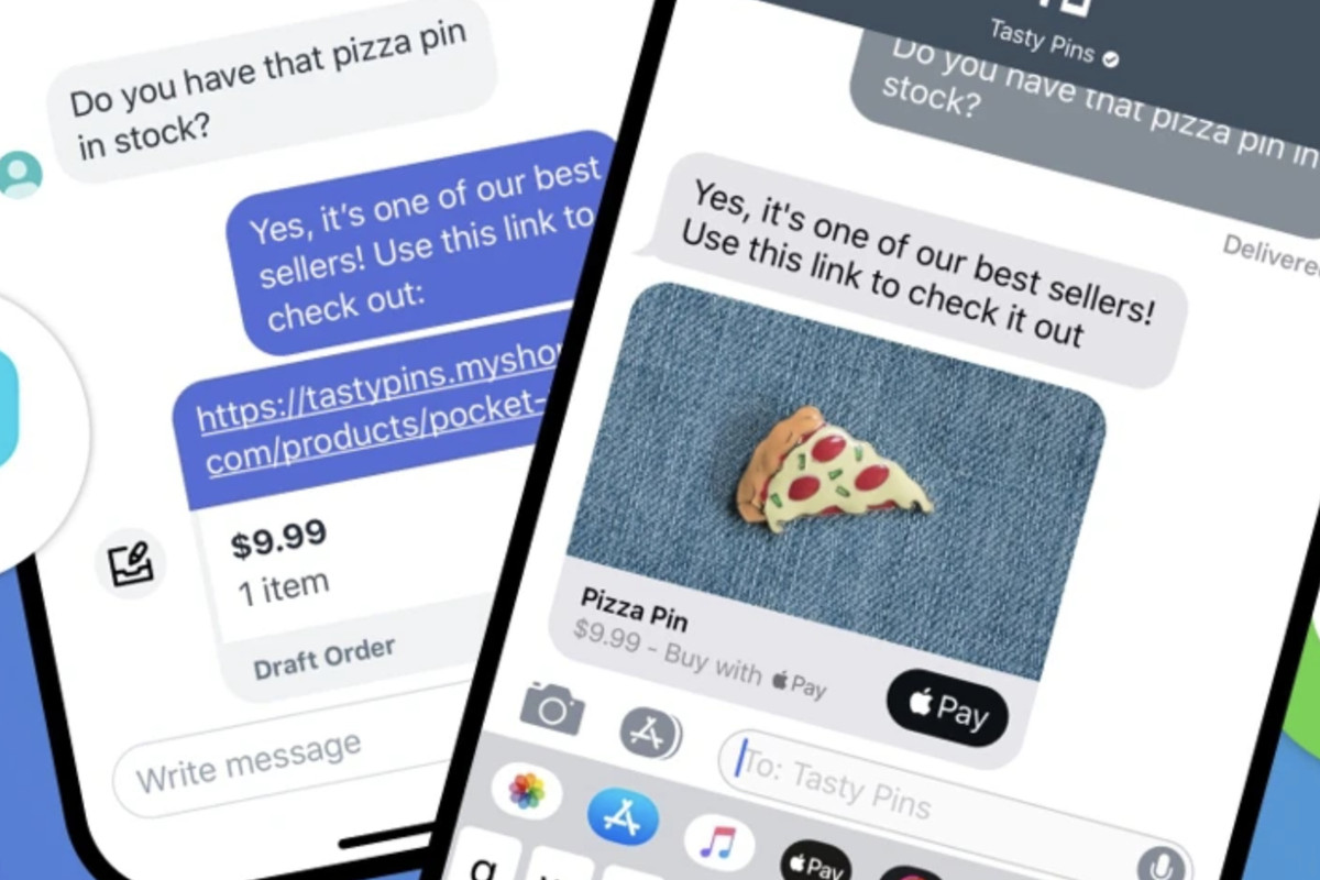 Apple expands iMessage Business Chat to Shopify online stores - The