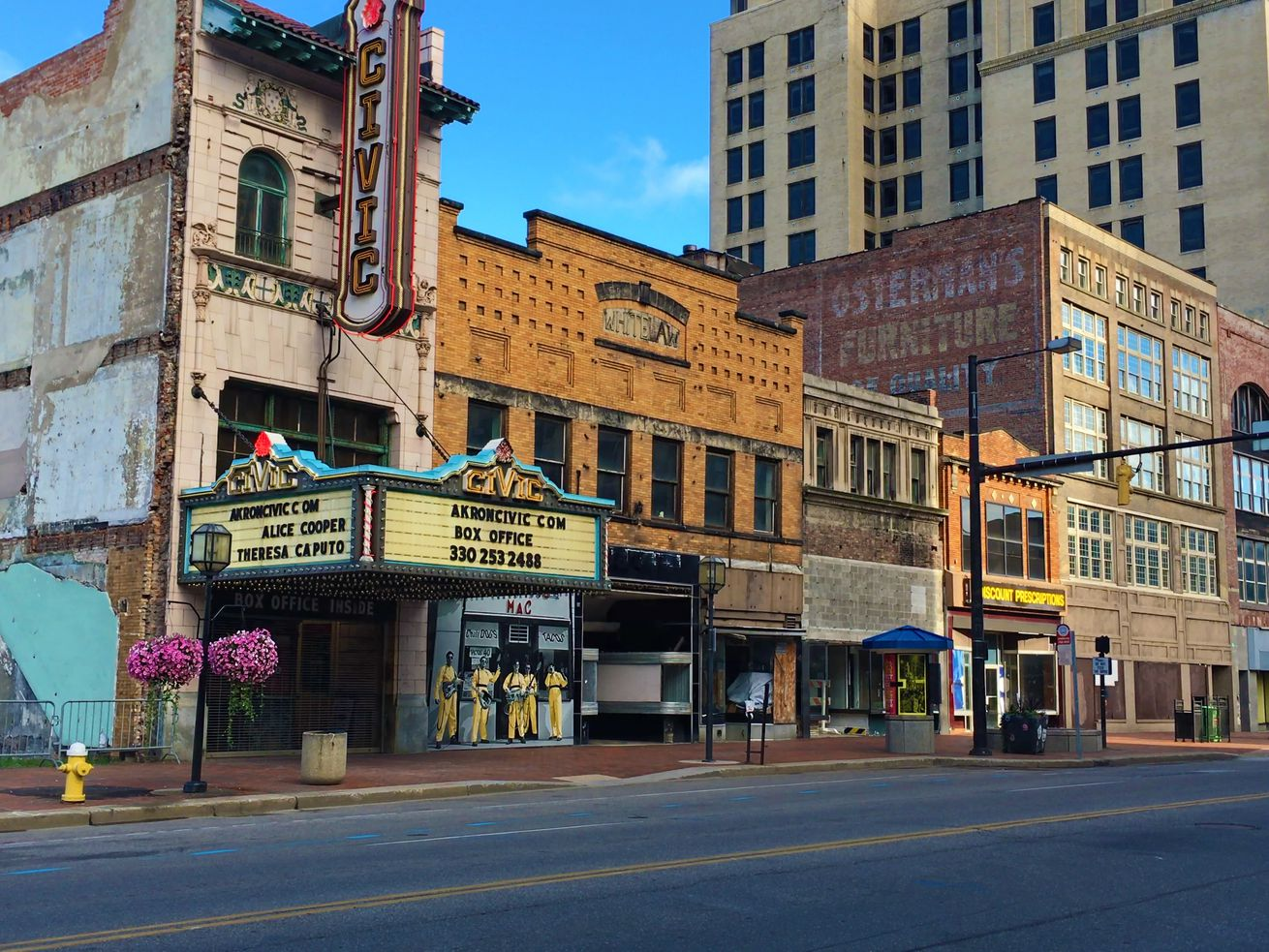 A 2016 photo of Akron, Ohio, which became the first city to host eBay's Retail Revival program.