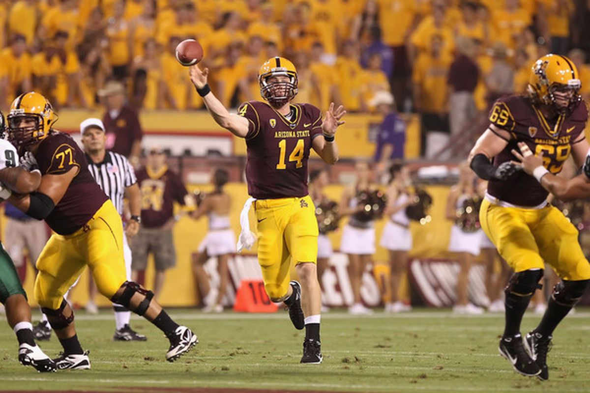 It's been a roller-coaster season for Arizona State quarterback Steven Threet and the Sun Devils.