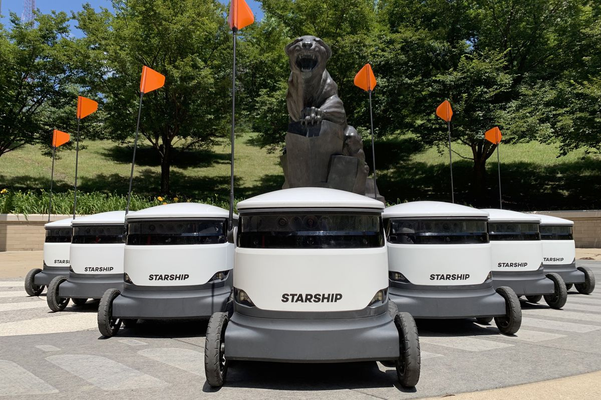Thousands Of Autonomous Delivery Robots Are About To Descend
