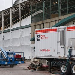 The south side of Wrigley Field
