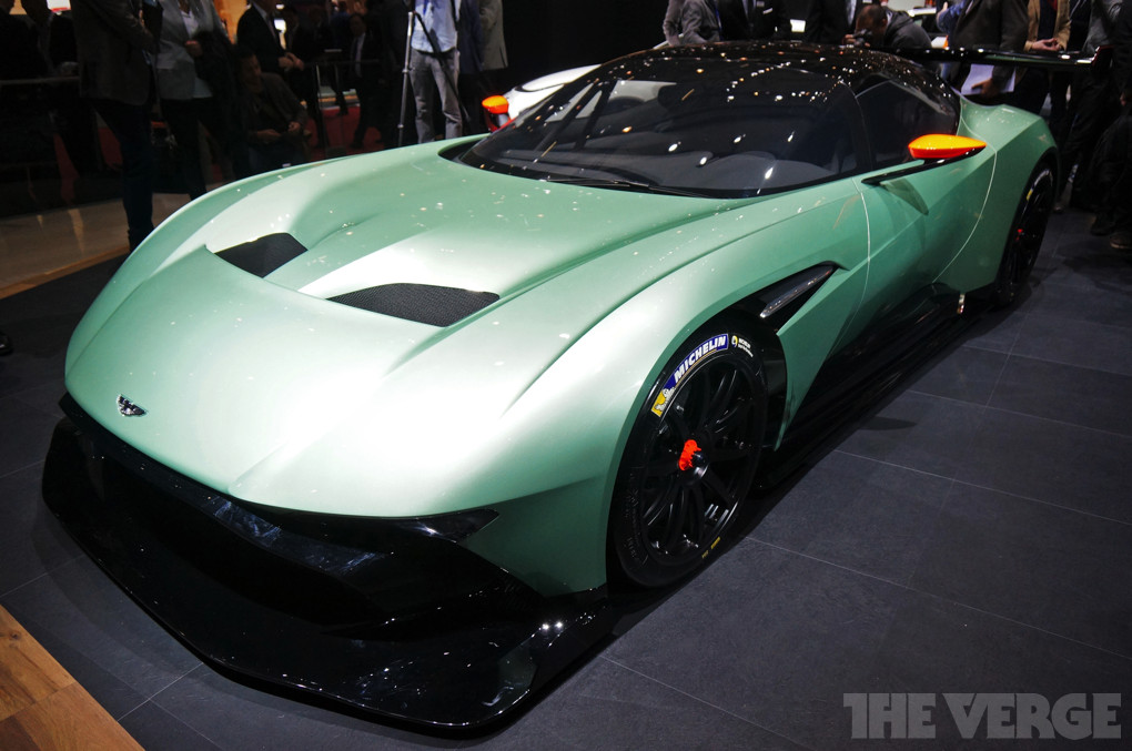 Up Close With Aston Martin S Vulcan Supercar And Electric