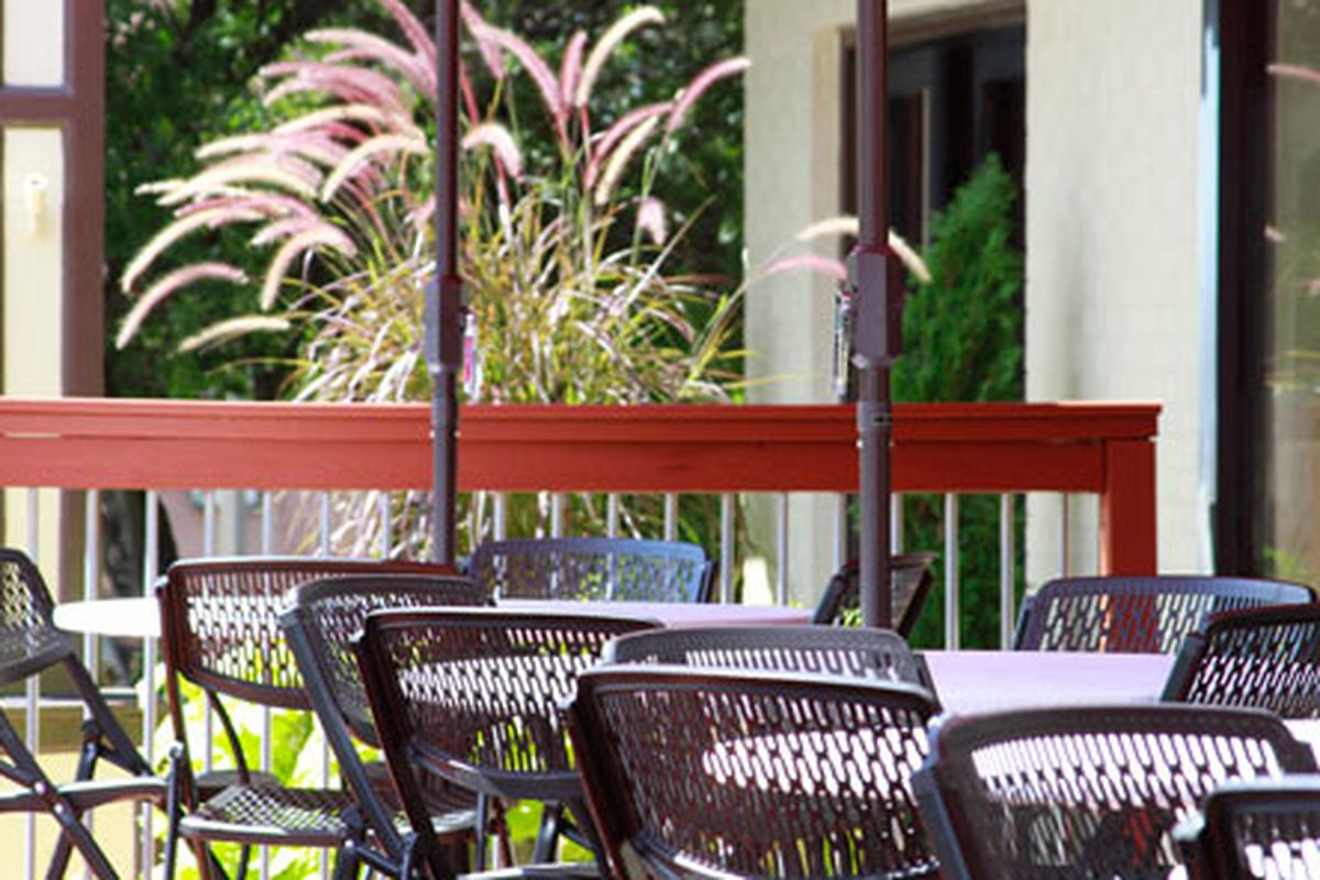 Fuji Hana's patio in Kennesaw.