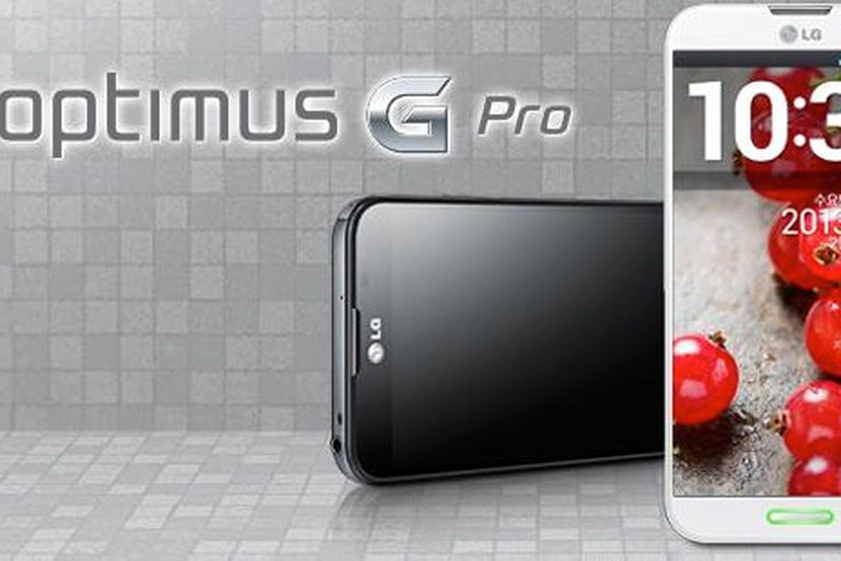 LG unveils Optimus G Pro with 5.5-inch curved glass screen ...