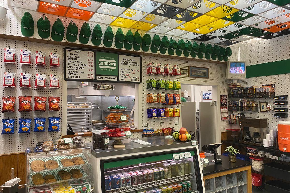 Deli counter at Snappy's