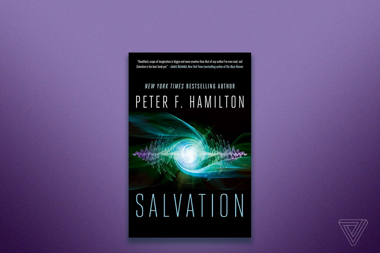 aliens watch the rise of humanity in an excerpt from peter f hamilton s sci fi novel salvation
