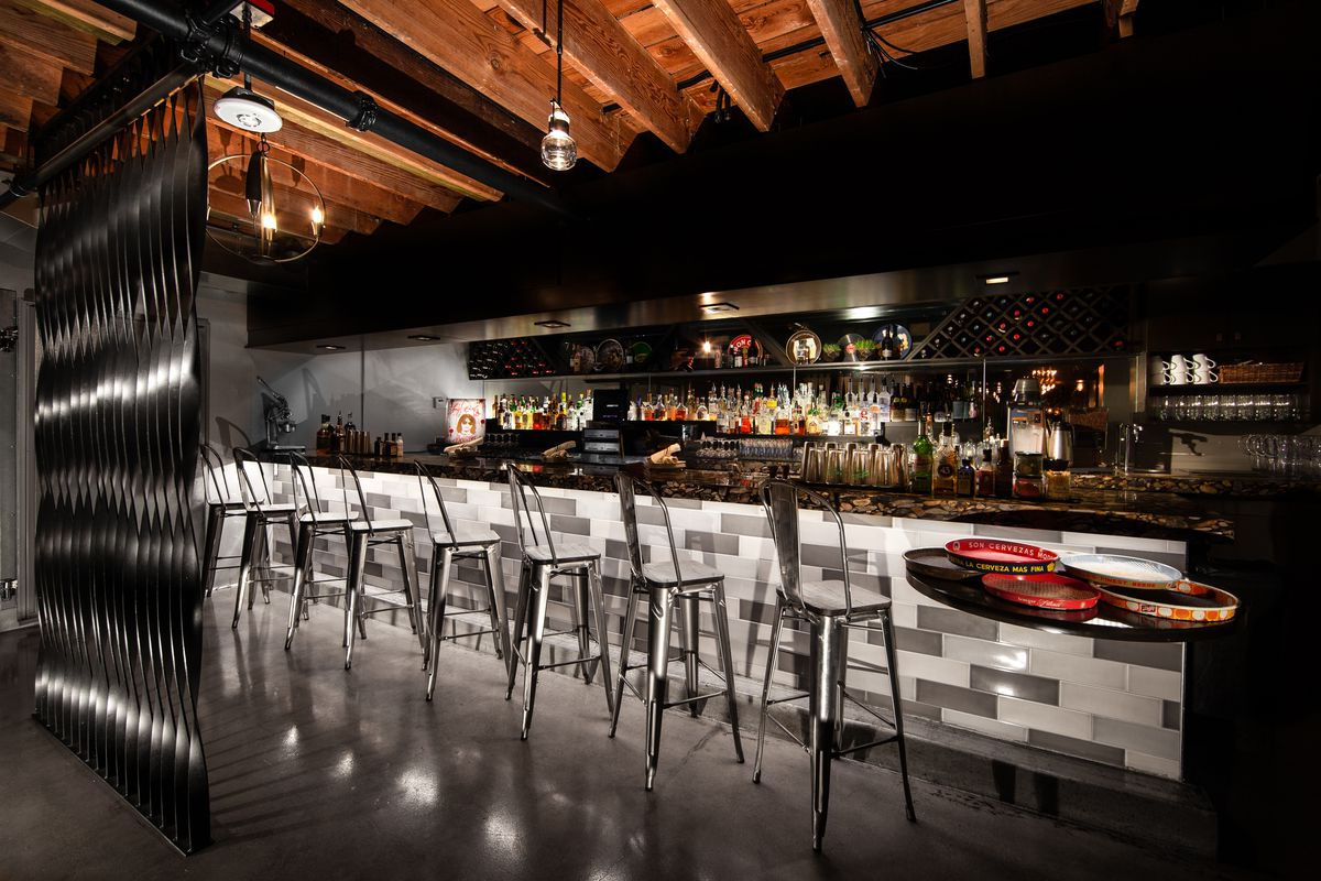 Celebrity Fitness: The bar at Carson Kitchen