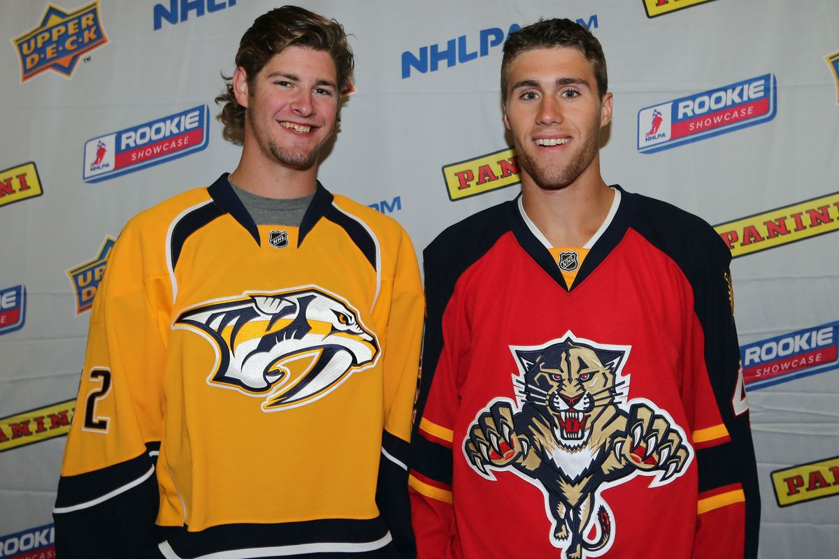 Austin Watson and Quinton Howden should be playing against each other tonight in a preseason game.