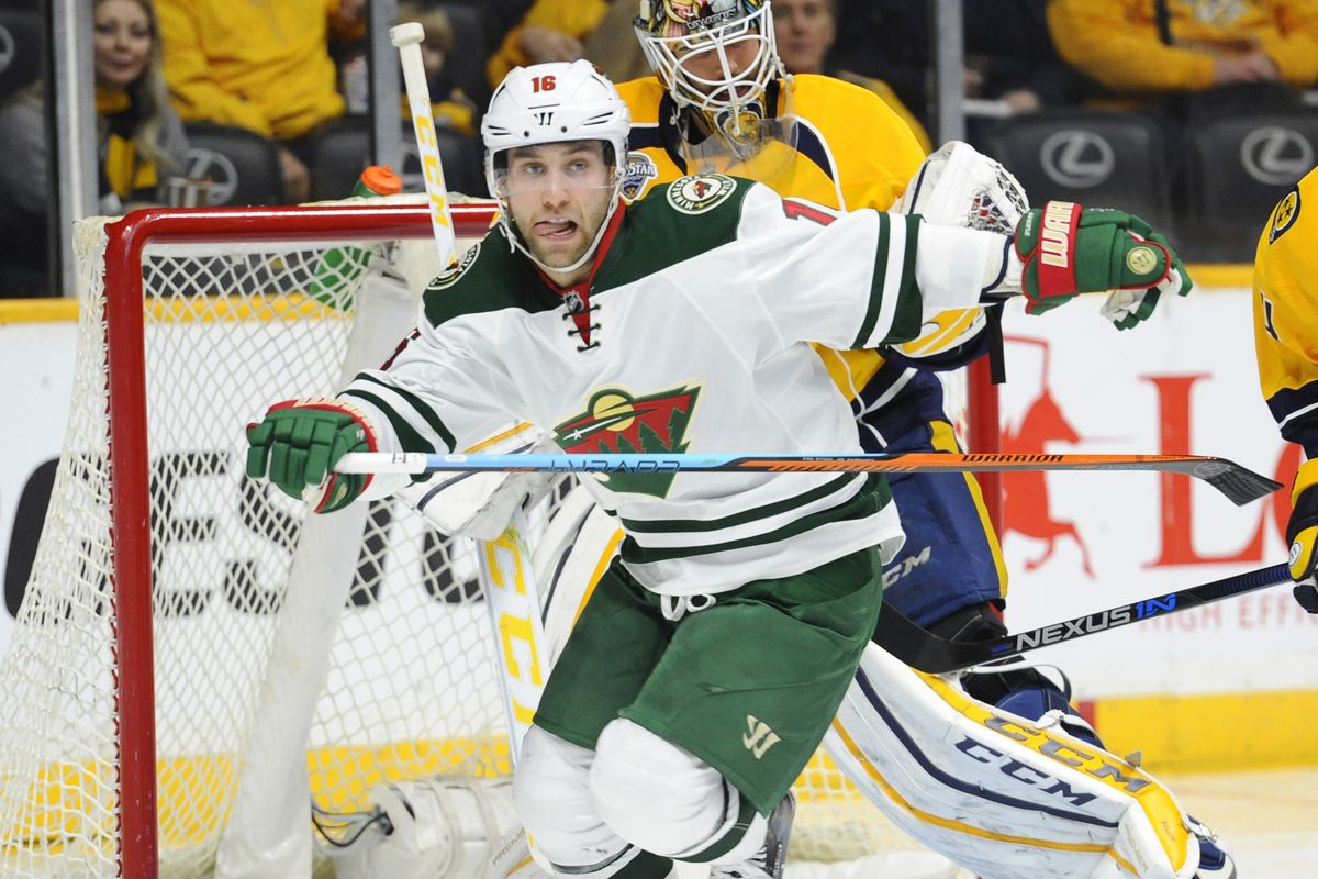 Jason Zucker's quietly been one of the NHL's most dangerous scoring threats. So why does he have just 12 goals this year?