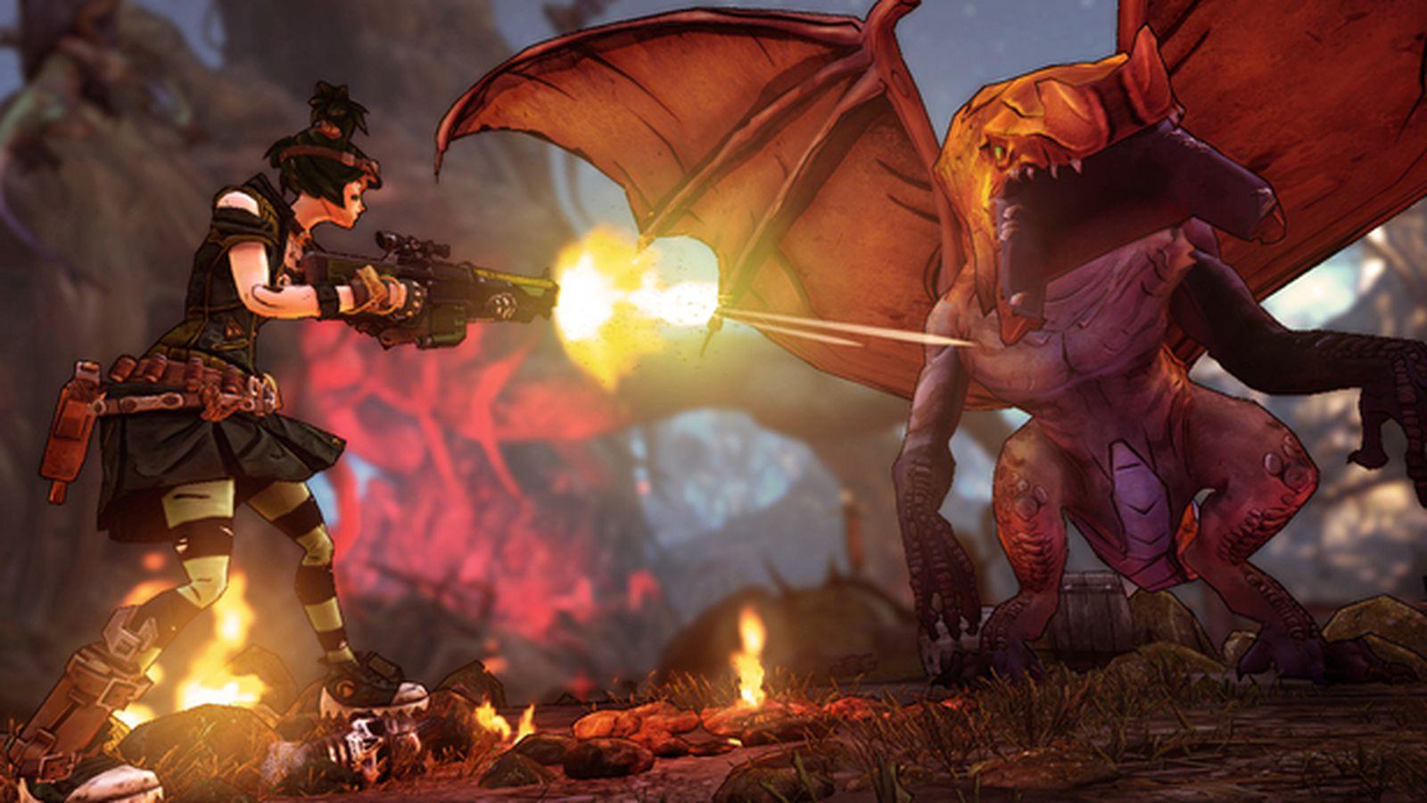 Borderlands 2 DLC Tiny Tina's Assault on Dragon Keep intro