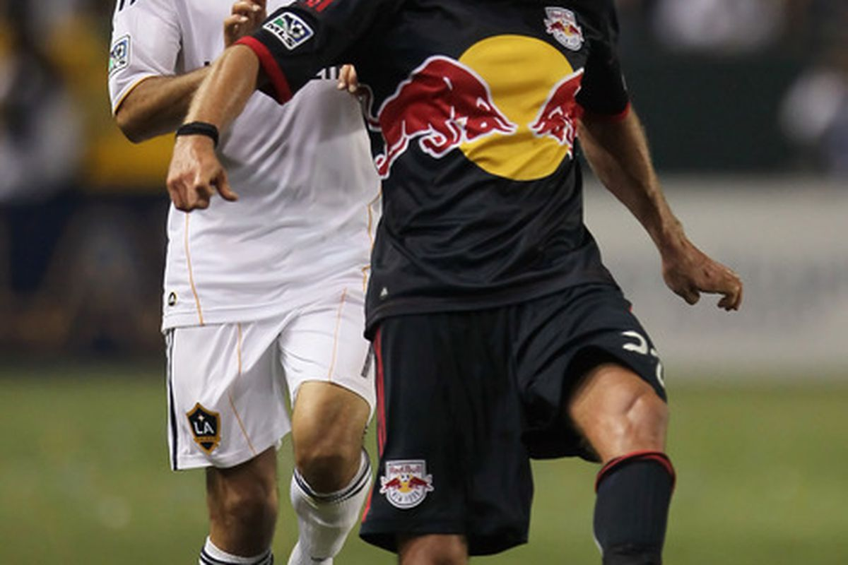 The Estonian Beast hasn't scored at Red Bull Arena this season. Could that change tonight?  (Photo by Jeff Gross/Getty Images)