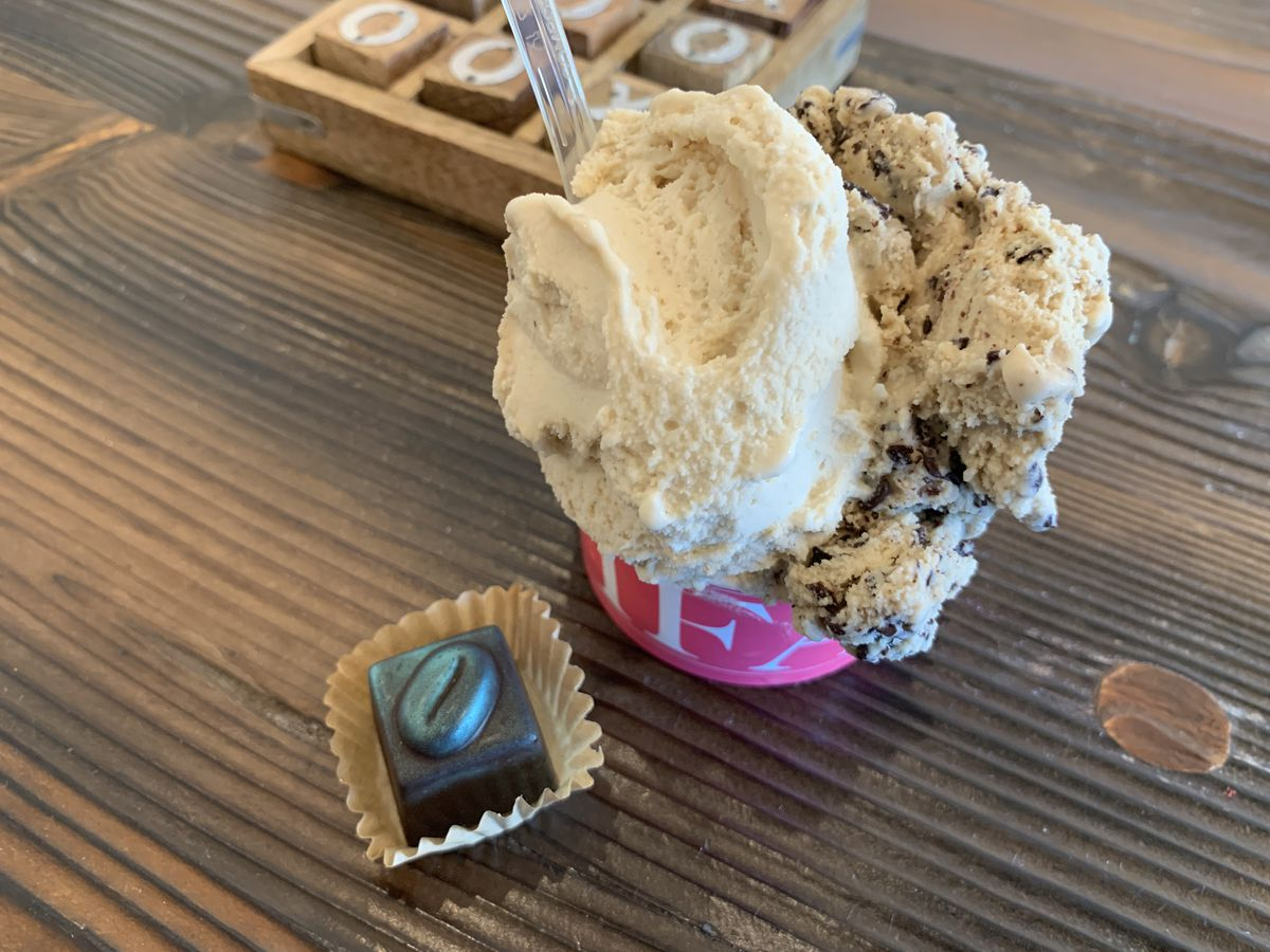 Gelato from Tifa Chocolate and Gelato in Agoura Hills.