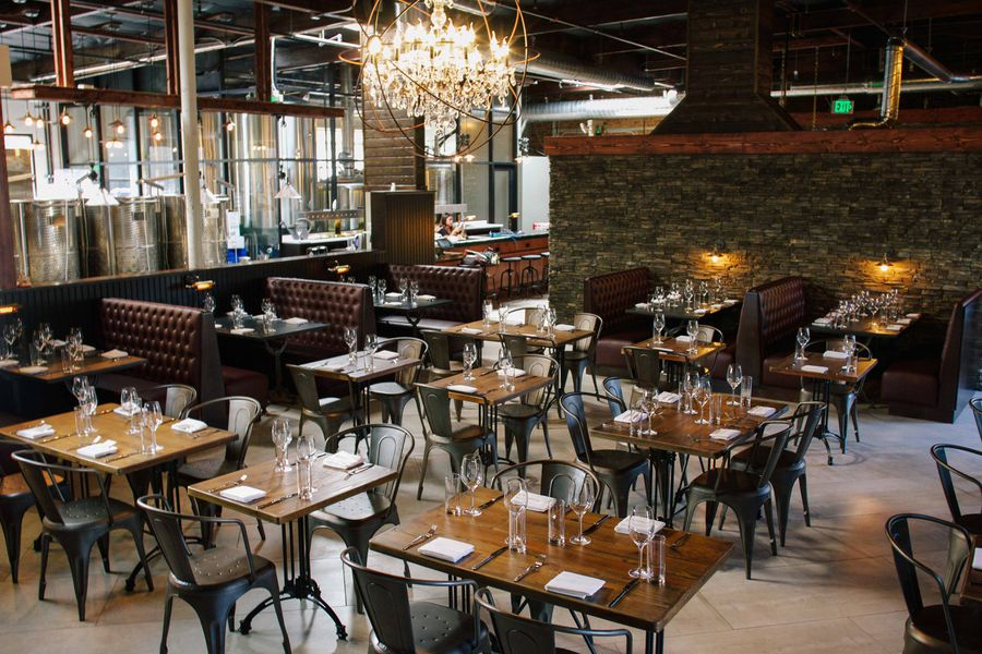 The Cork And Craft Restaurant Shares Space With Urban