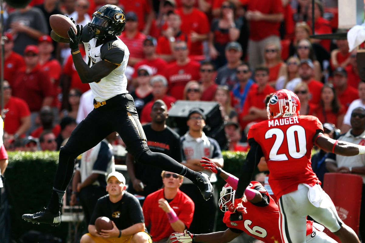 Georgia's defense couldn't keep up with Mizzou's sweet ballet moves
