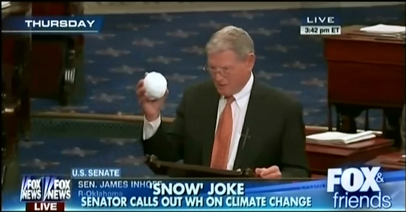inhofe5 Why conservatives keep gaslighting the nation about climate change