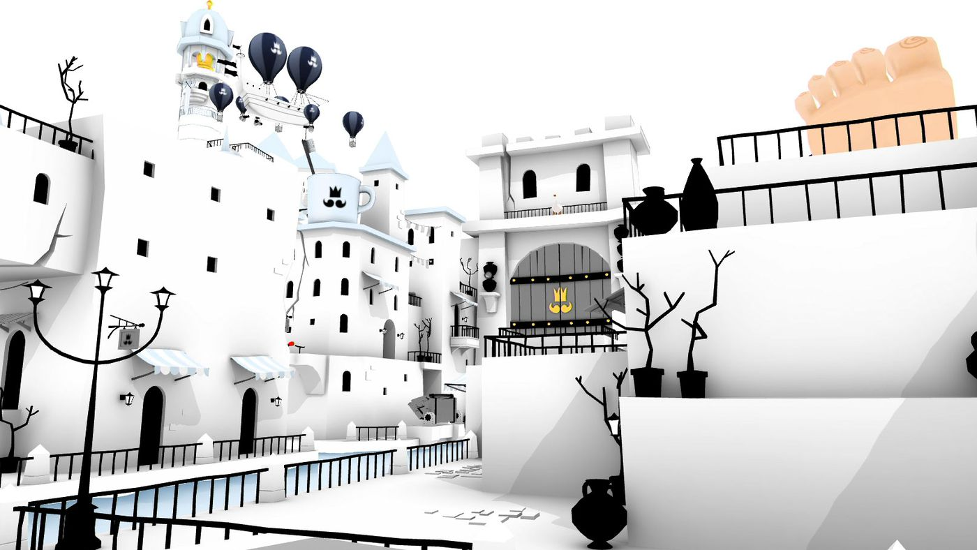 The Unfinished Swan on PS4 is the same experience you'll remember from PS3  - Polygon