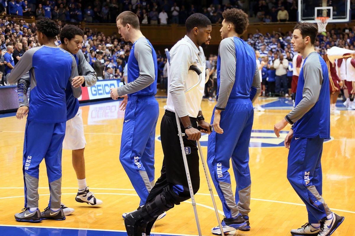 big sale 35d30 ac41a Duke's Amile Jefferson out for season with foot injury ...