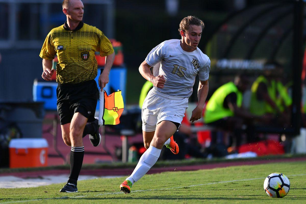 Cal Jennings of UCF Men's Soccer