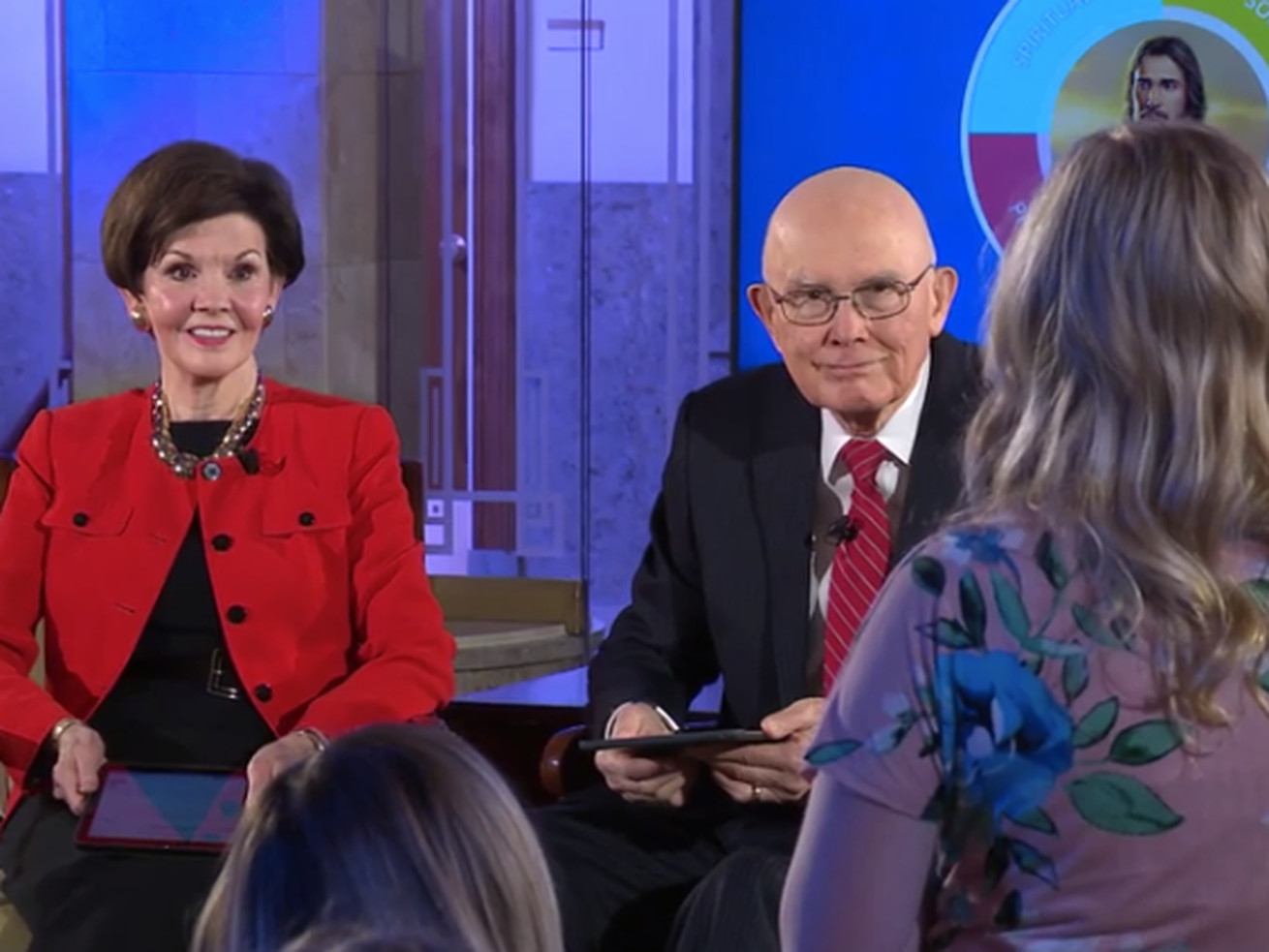 'You can do this': President and Sister Oaks tell youth during Face to Face on new program