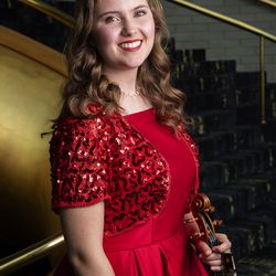2019 Salute to Youth performer Makenzie Hart in Abravanel Hall in Salt Lake City on Friday, Aug. 9, 2019.