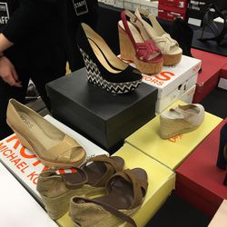 Michael Kors wedges, $25—$47 (from $100—$185)