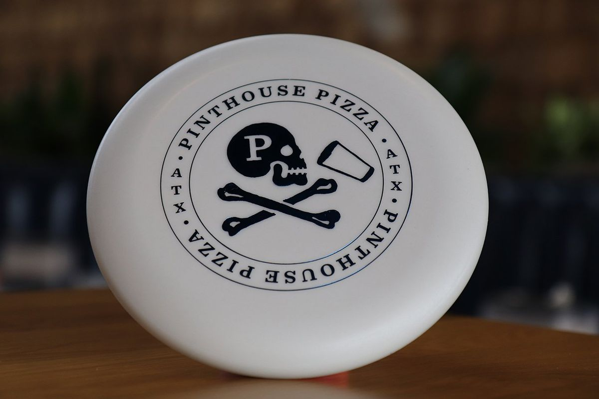 The disc golf putter from Pinthouse Pizza