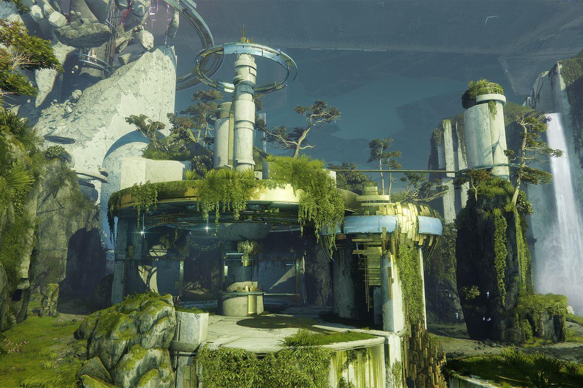 New Destiny 2 Shadowkeep green map
