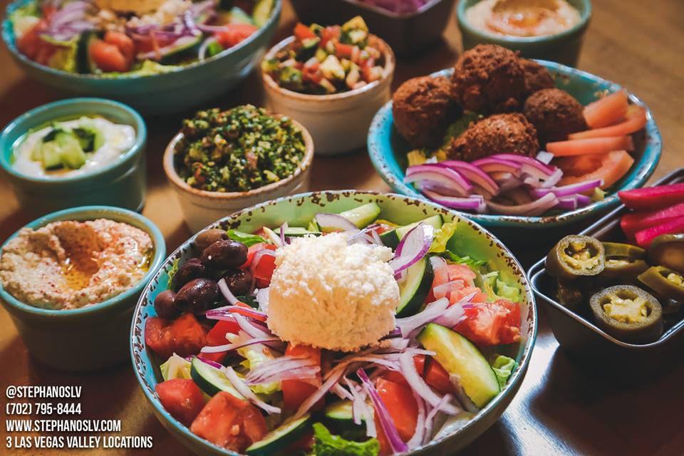 Spread of Greek cuisine