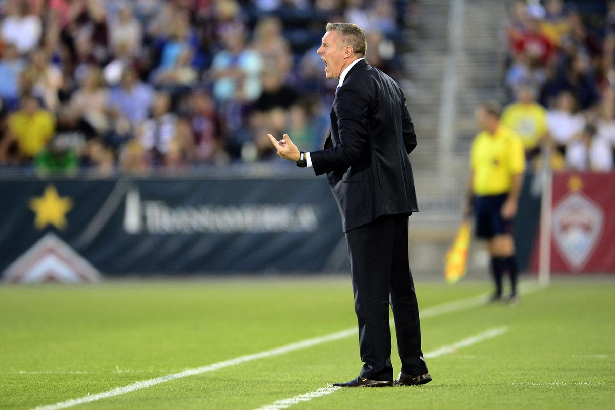 Watching Vermes chipp away at the referees every game is usually hilarious.