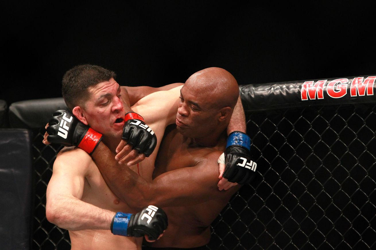community news, Anderson Silva calls out Nick Diaz for round six of 'one of the best fights in the history of the sport'