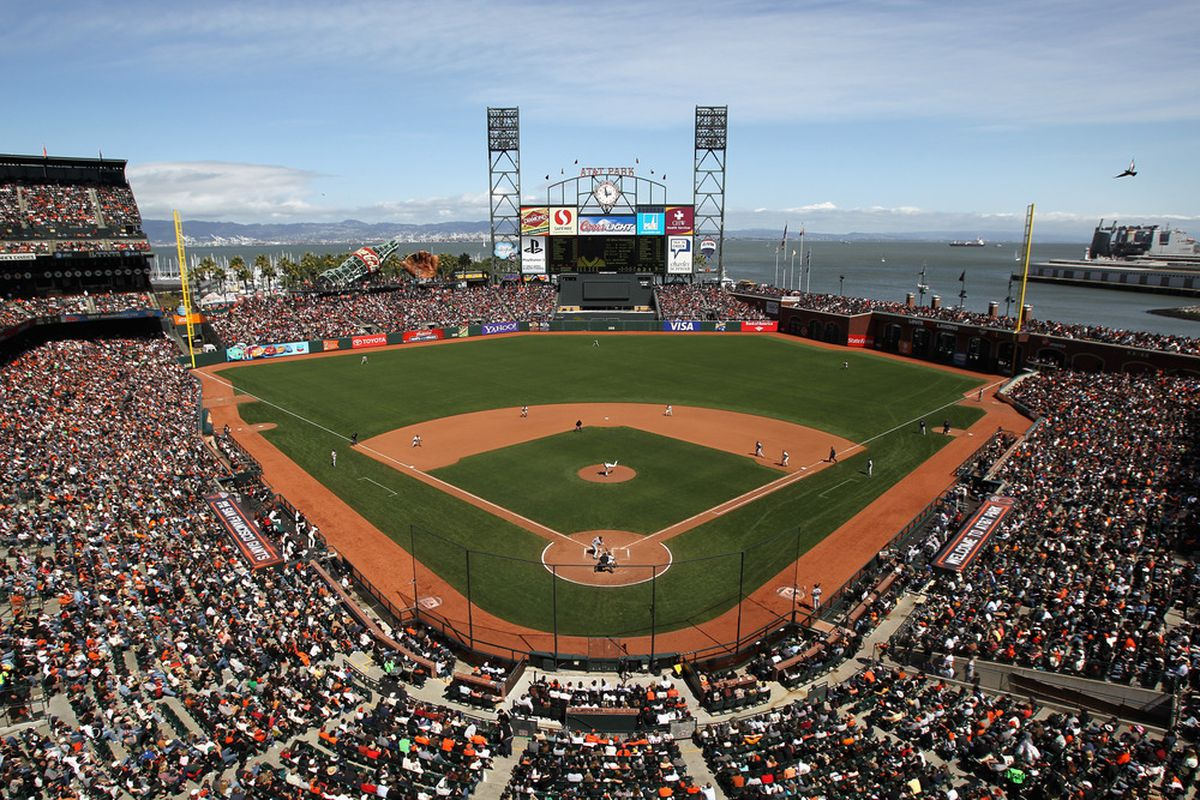 SAN FRANCISCO, CA - APRIL 24:  A general view during the San Francisco Giants' game against the Atlanta Braves at AT&T Park on April 24, 2011 in San Francisco, California.  (Photo by Ezra Shaw/Getty Images)