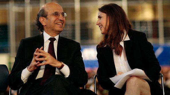 Moskowitz and the charter-friendly Joel Klein, former chancellor of New York City schools. Getty Images.
