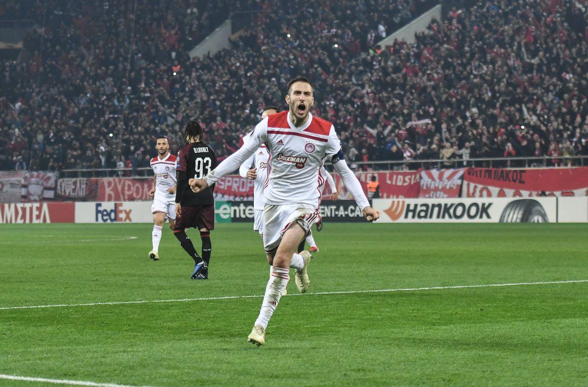 Olympiacos v AC Milan - UEFA Europa League - Group F
