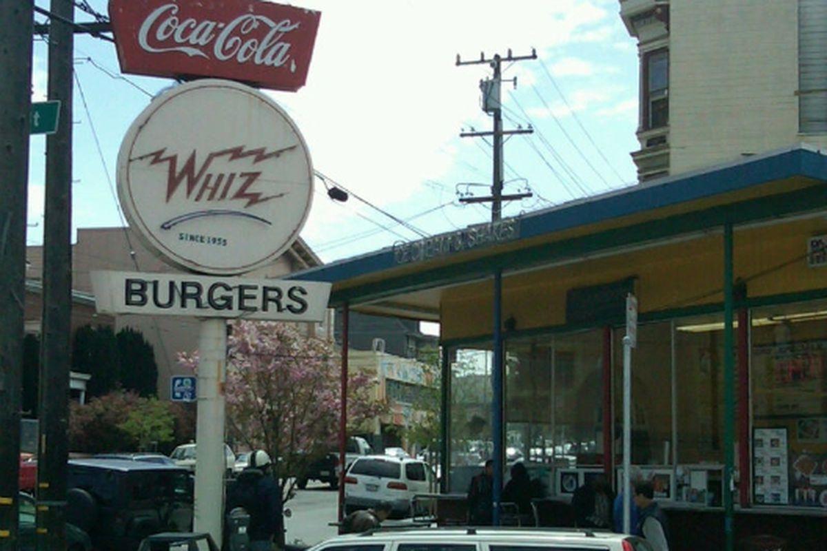 Whiz Burgers.