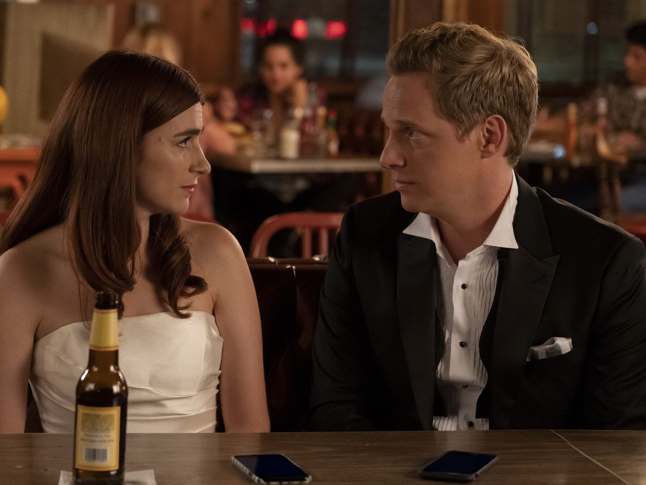 Jimmy and Gretchen promise to love each other in their own way in the You're the Worst finale.