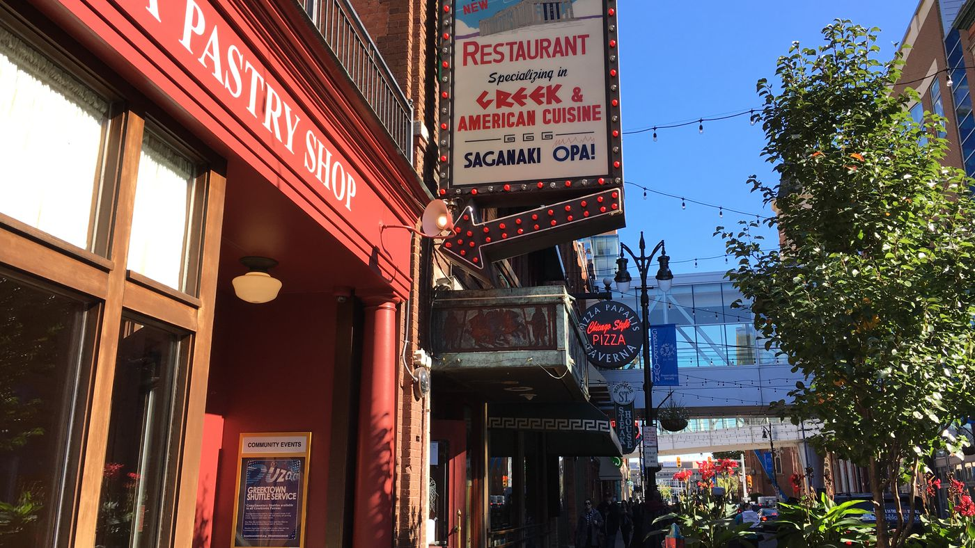 Greektowns New Parthenon Restaurant Closes For Remodeling Eater