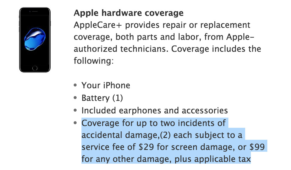 half off aa854 f905c Apple quietly made it cheaper to replace a cracked iPhone screen ...